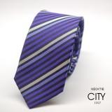 6.5cm中版領帶 紫色藍色  A601 h